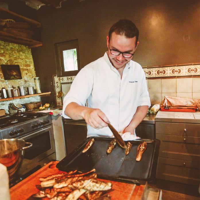 Ateliers cuisine au Domaine de Salente