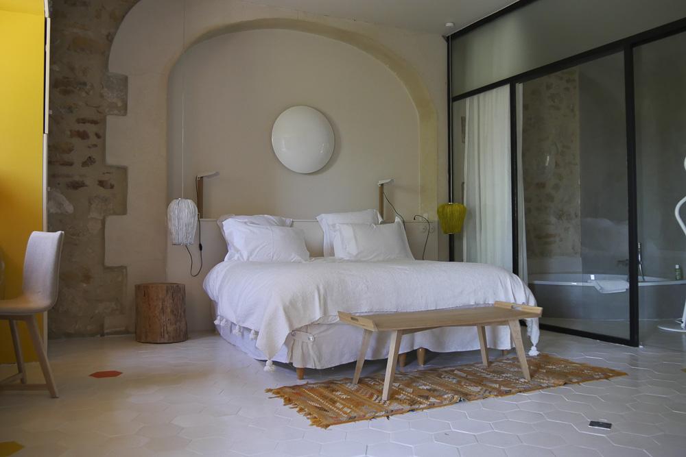 """chambre """"Ô pied des vignes"""", Domaine de Salente, Hérault (34150)"""