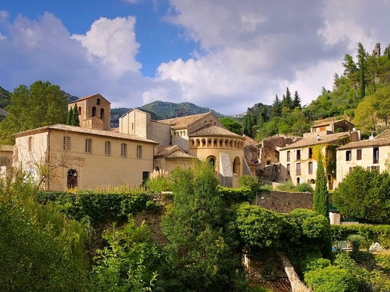 Saint-Guilhem, domaine de Salente