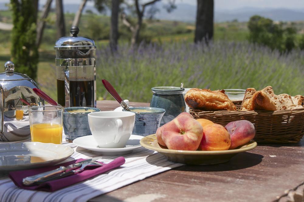 Petit-déjeuner au Domaine de Salente, Hérault (34150)